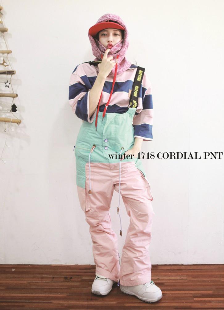 Штаны CORDIAL pink