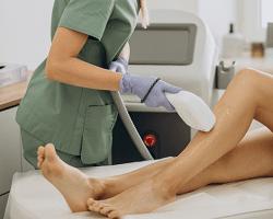 эпиляция ног и бикини