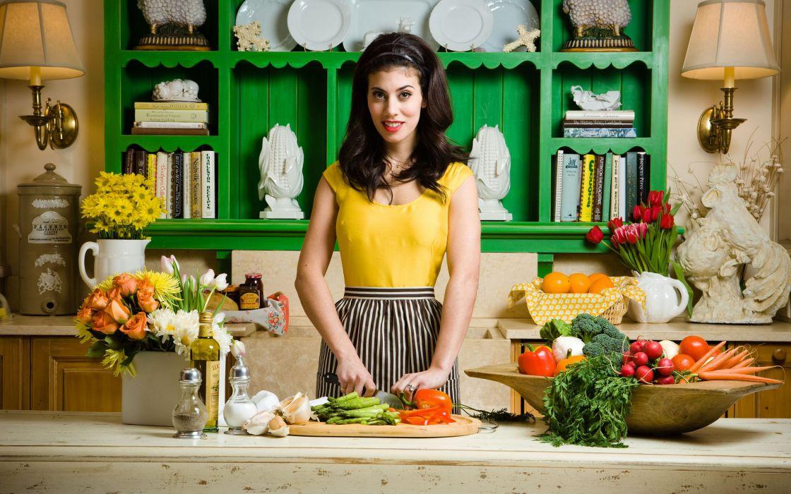 фотосессия дома на кухне