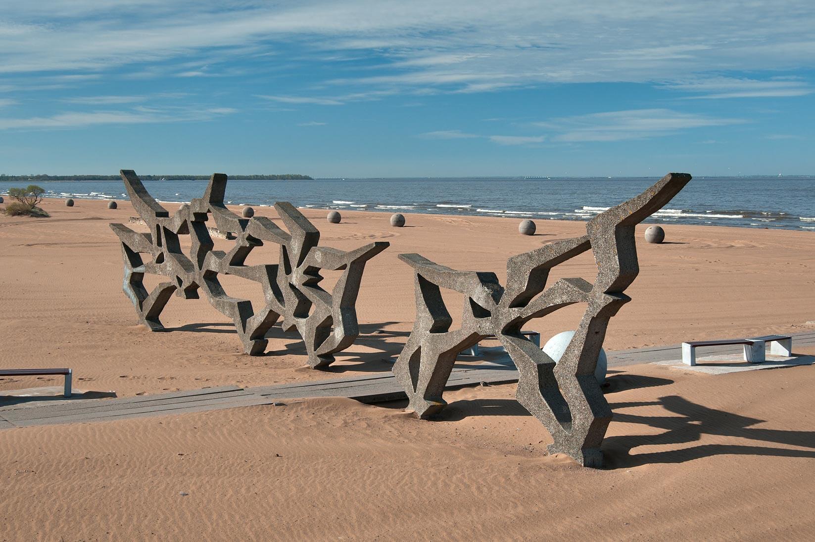 Пляж Ласковый Ленобласть