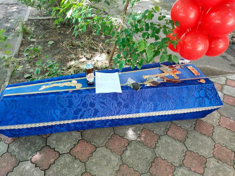 Нацкорпус угрожает Партии Шария в Николаеве - фото