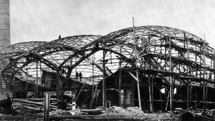 строительство Листопрокатного цеха в Выксе