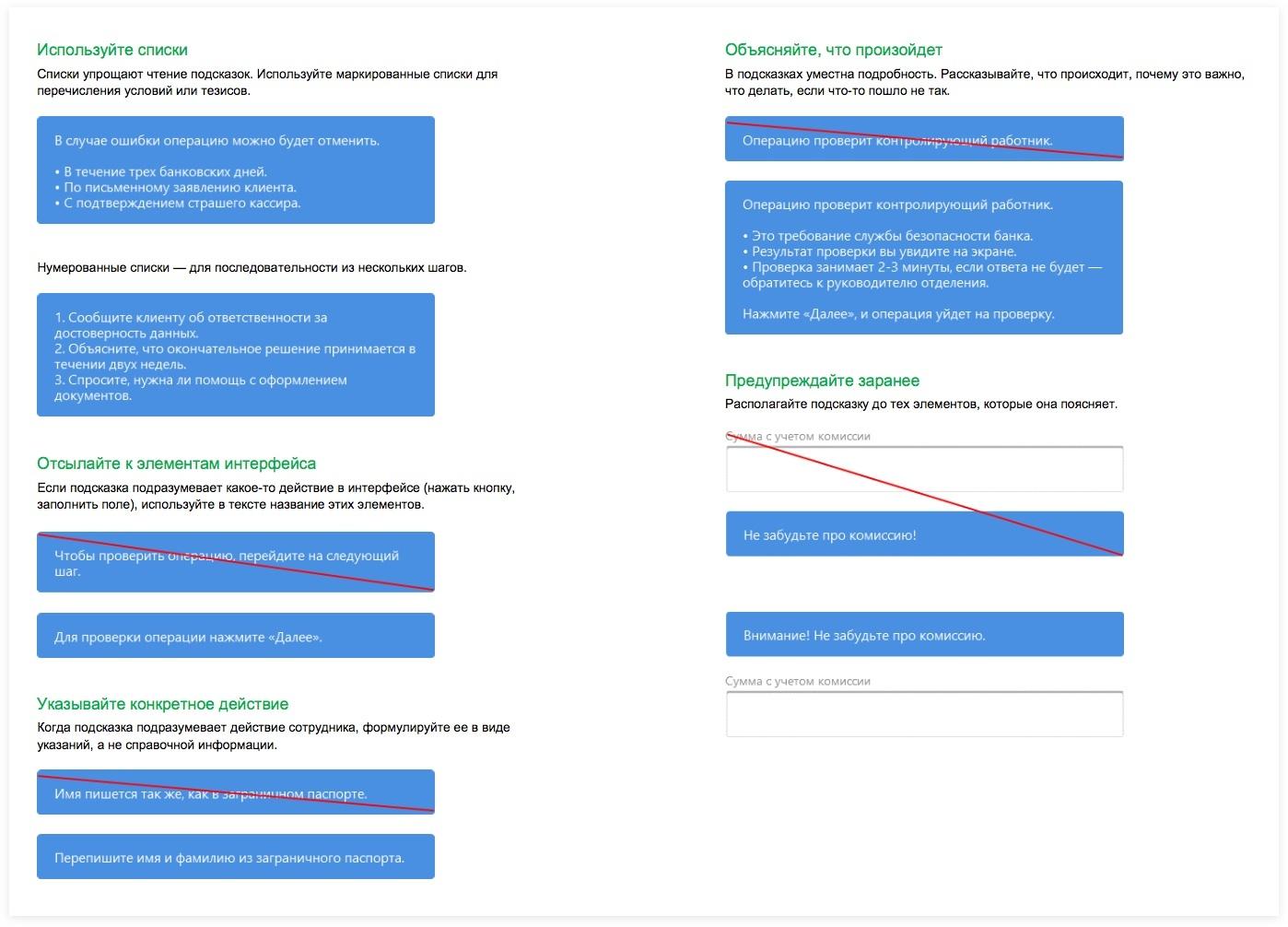 Рекомендации к составлению подсказок для новичков  | sobakapav.ru