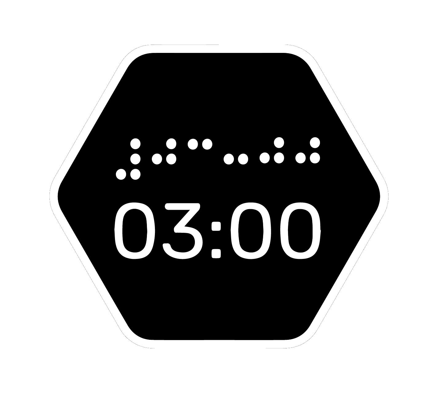 логотип музею в темряві третя після опівночі