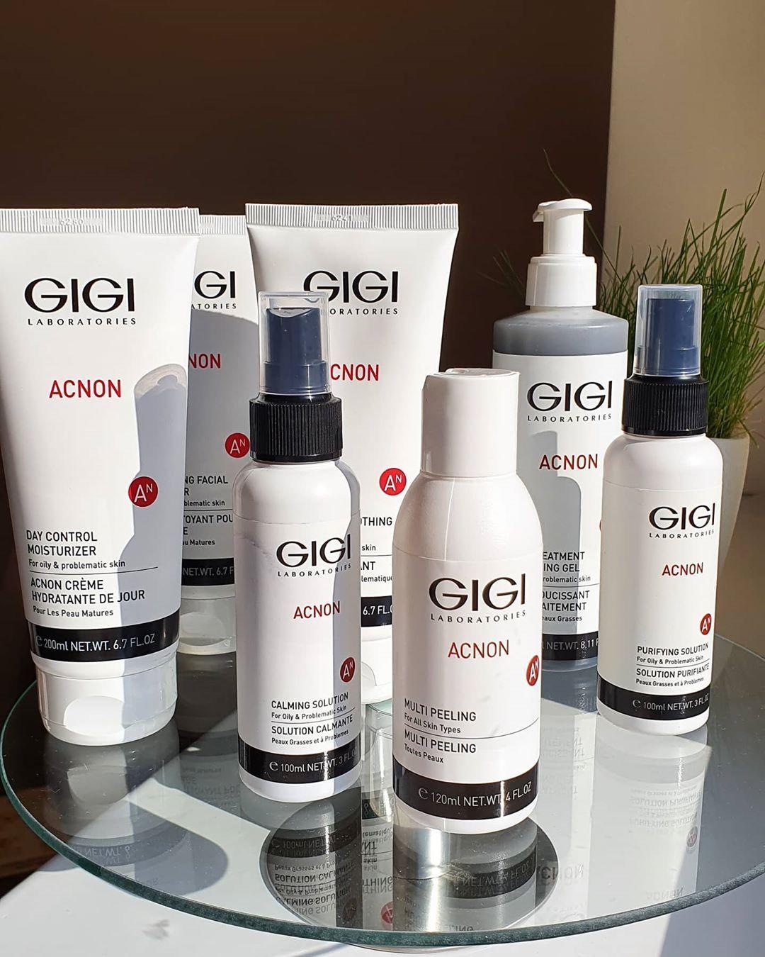 Косметика, Gigi, чистка обличчя, лікування акне, підбір косметики