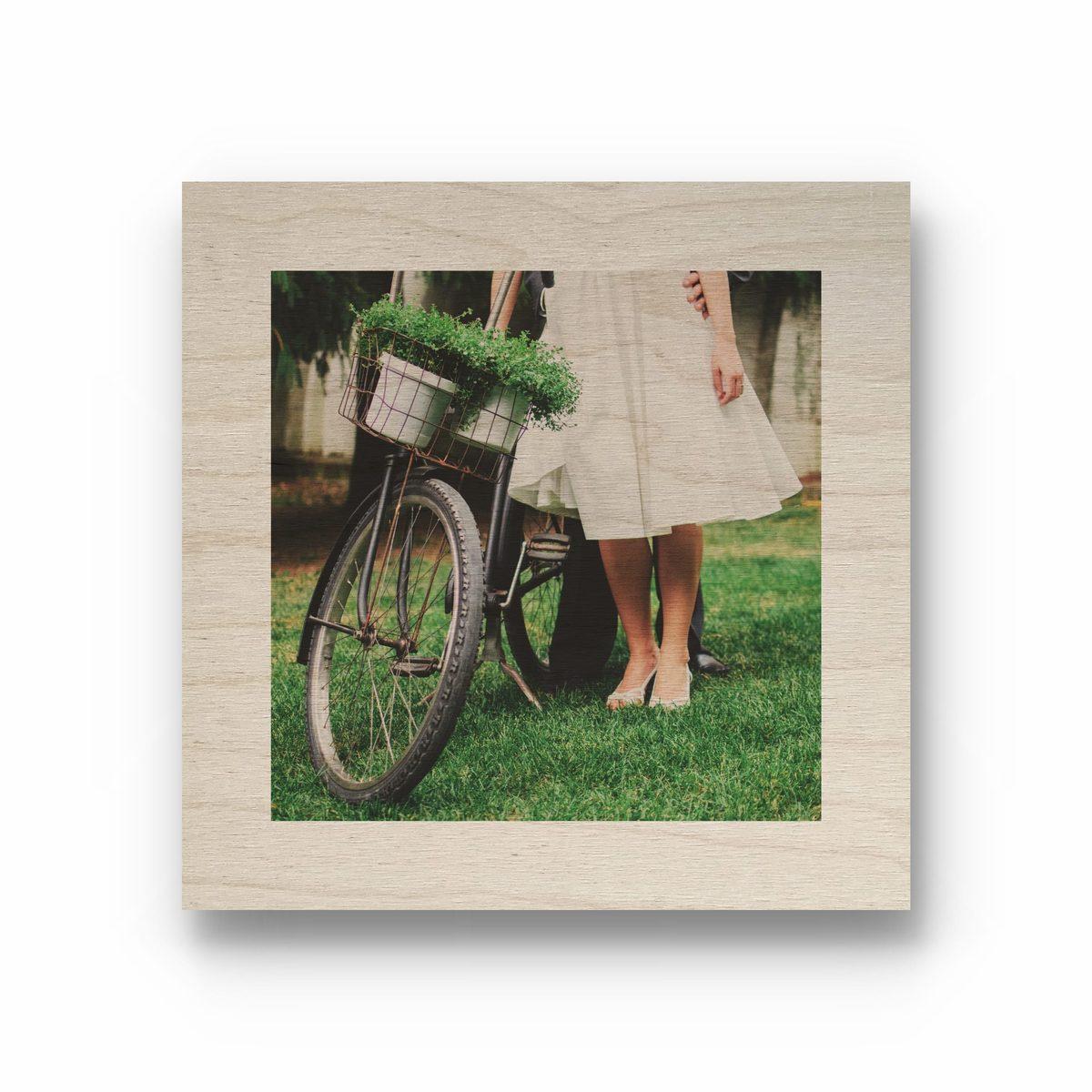 деревянная картина C фото Takewood спб