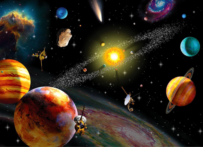 планеты солнечной системы в космосе картинки вездеход станет вашим