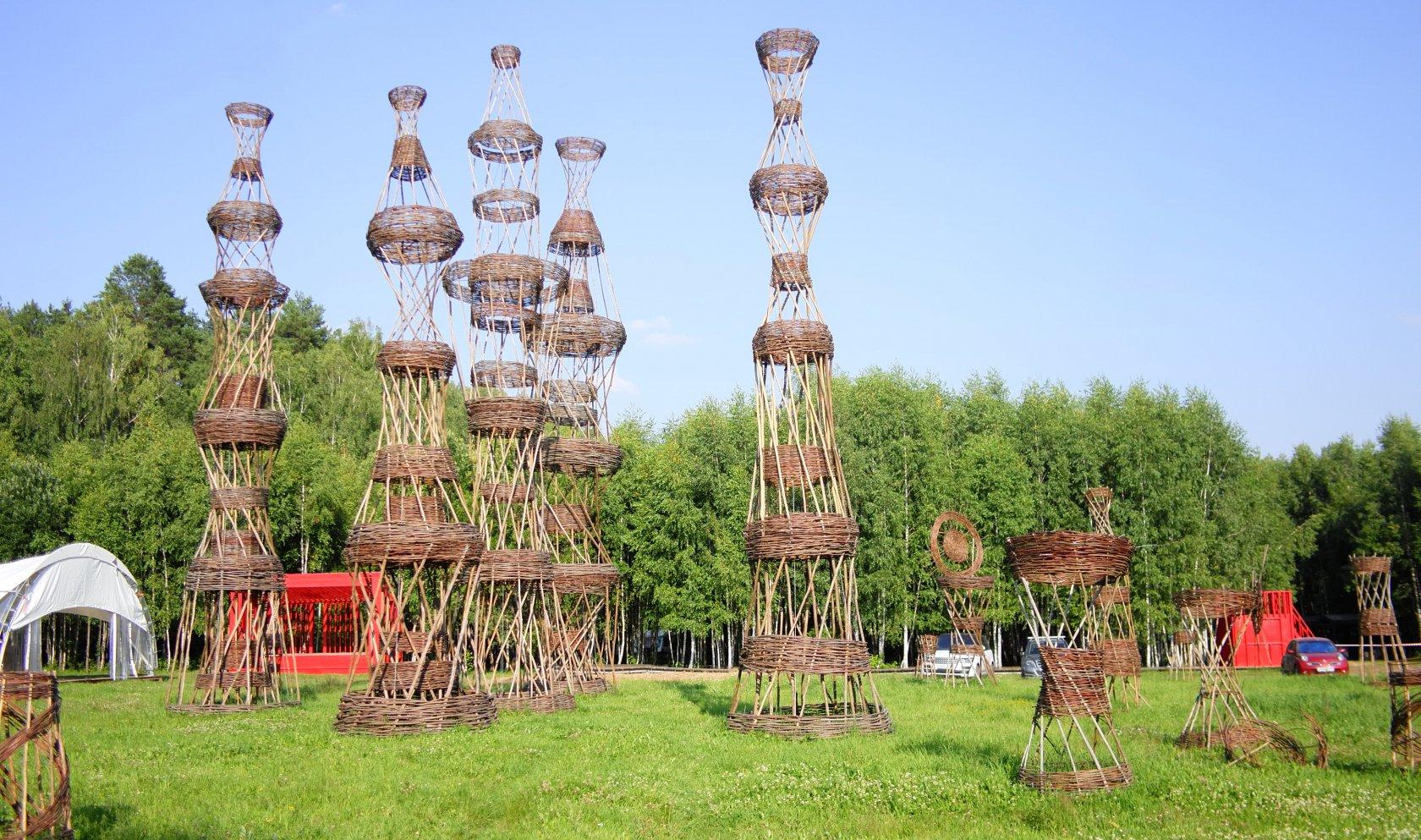 арт парк никола ленивец калужская область фото конструкции лестницы