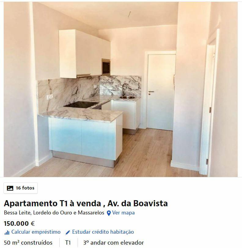 квартира под аренду Португалия
