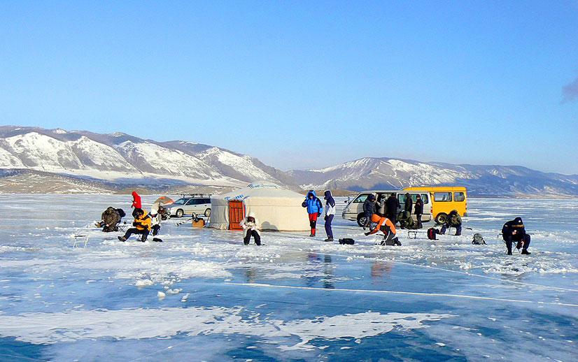 Знакомство с зимним Байкалом