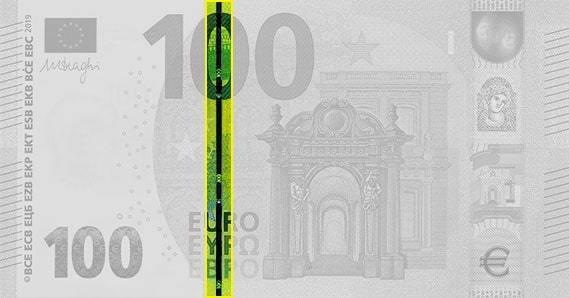 Защитная нить на Евро