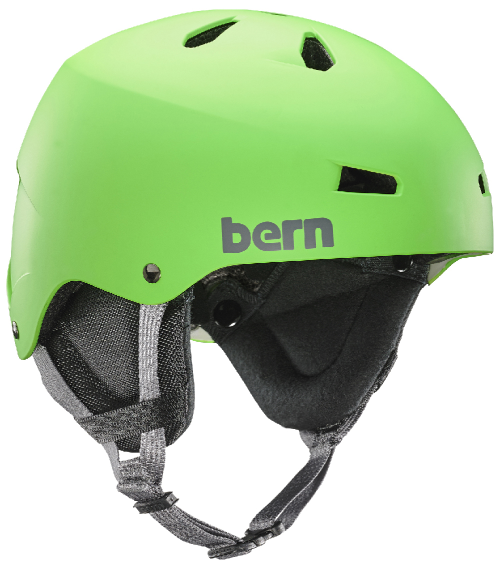 Шлем Bern Team Macon  Neon Green