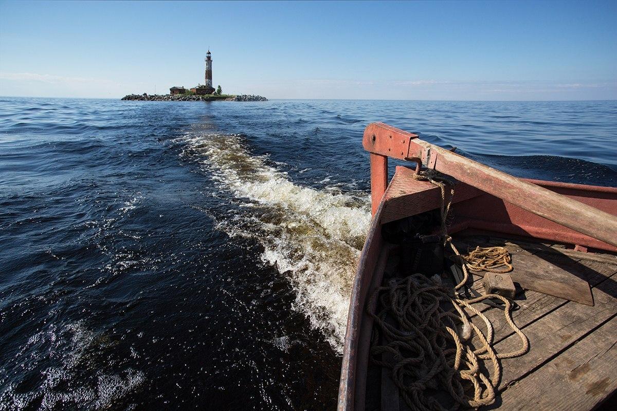 Ладожское озеро маяк Сухо