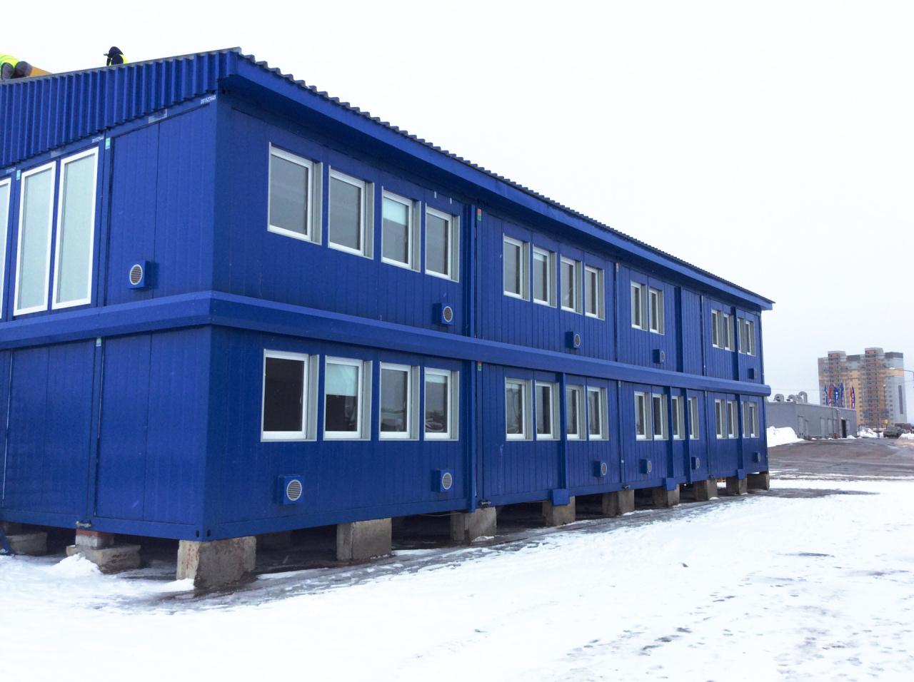пять картинка модульного здания юбка