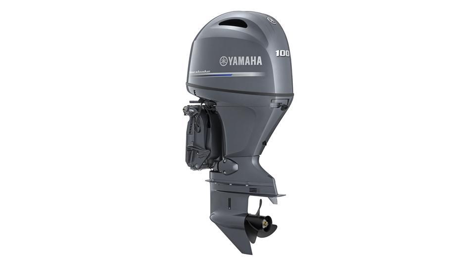 Yamaha F100DETL 100 л.с.