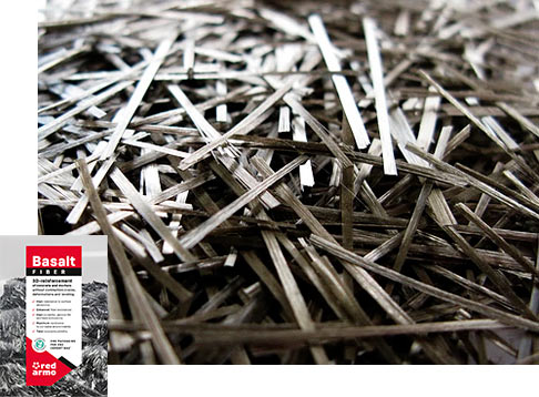 RedArmo | Basalt fiber reinforced polymer composites