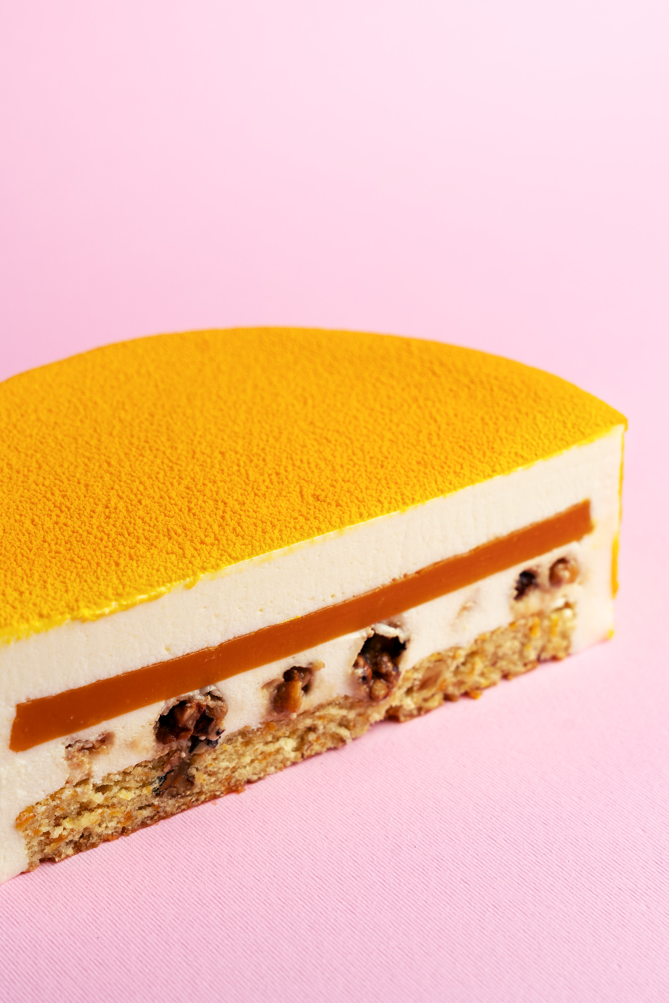 dessert with filling