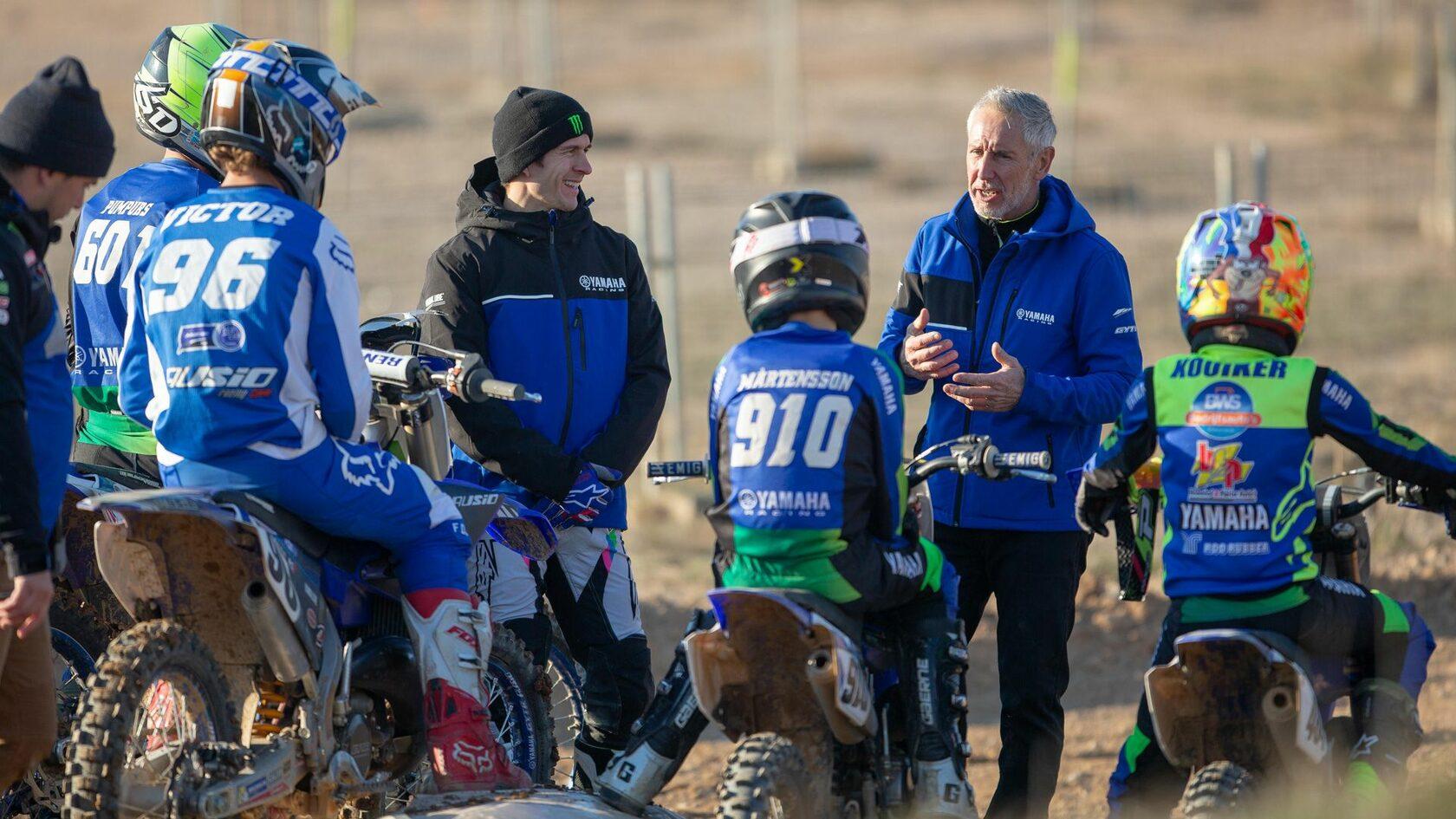 Yamaha Racing UK стала партнером британского чемпионата по мотокроссу