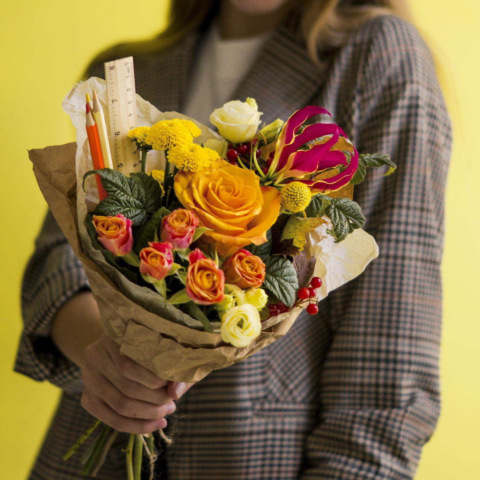 Роз сетке, букеты к 1 сентября ульяновск