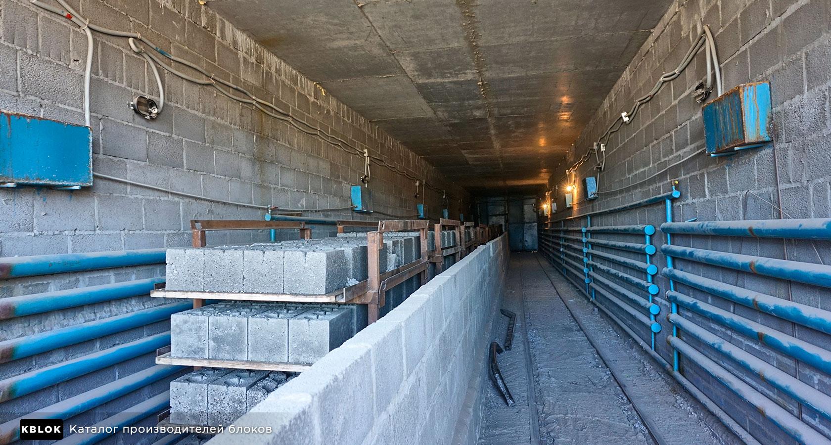 тоннельная сушильная камера