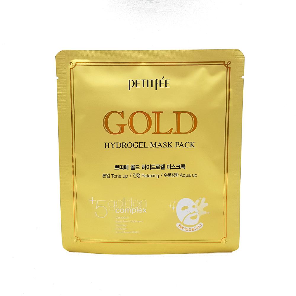 Купить PETITFEE Gold Hydrogel Mask Pack, PTF007