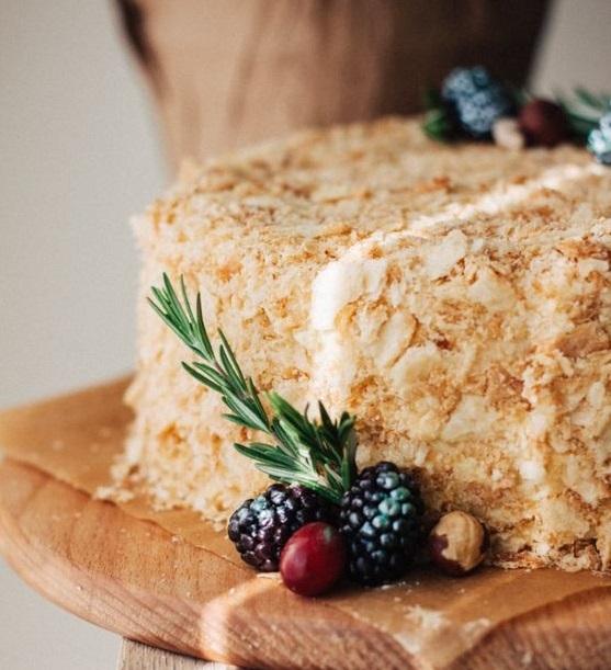 Кулинарный рецепт торт наполеон с фото