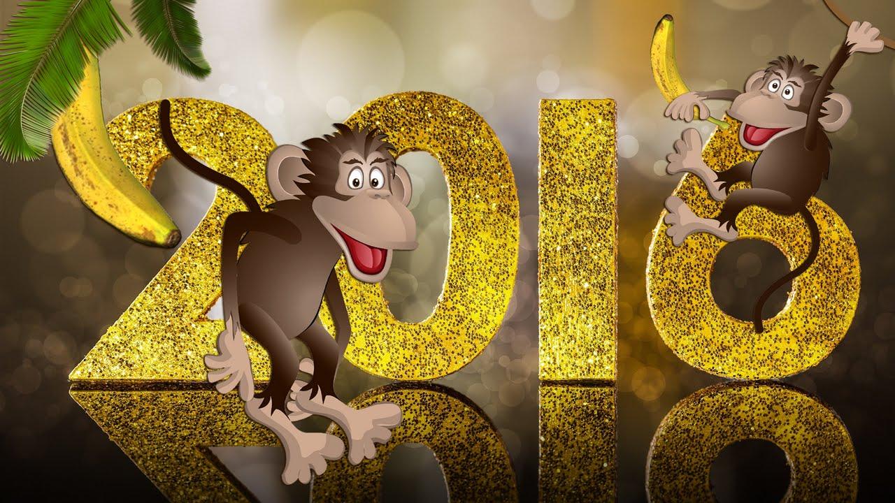 Картинки год обезьяны новый