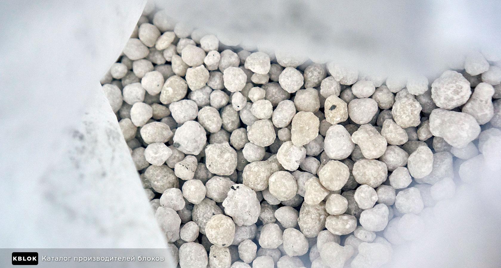 гранулированный сульфат алюминия