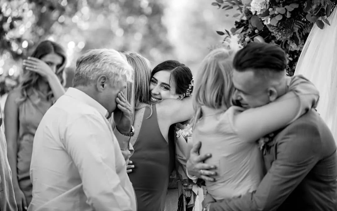 Свадебная фотография в репортажном стиле
