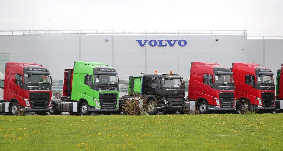В 2017 году Volvo Trucks стали самыми продаваемыми грузовыми автомобилями в России (фото: Volvo Group Trucks)