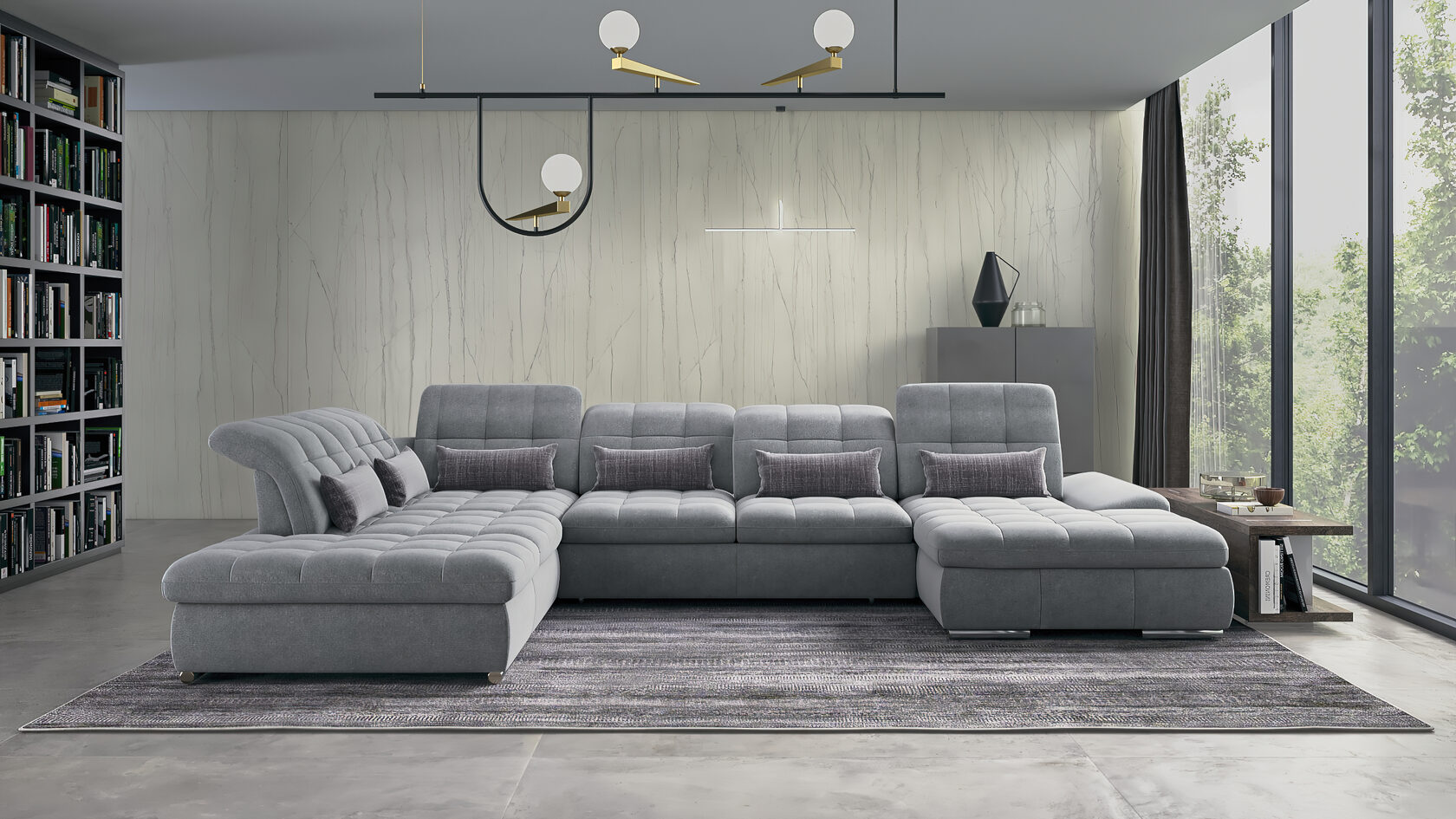 Модульні дивани від виробника преміум якості з доставкою по Україні від компані SO&BE
