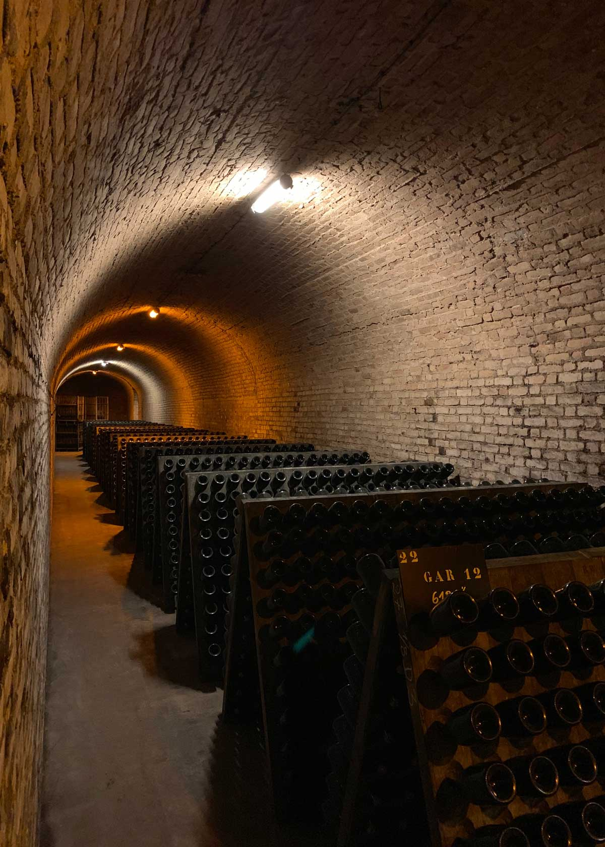 Винные погреба Шампани во Франции