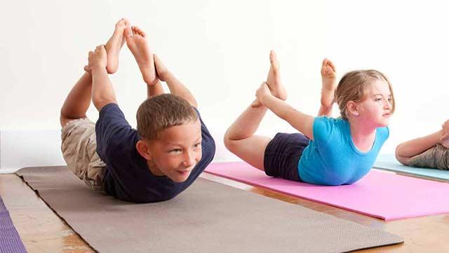 Йога для начинающих детей