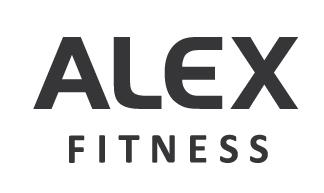 Логотип федеральной сети фитнес-клубов Alex Fitness