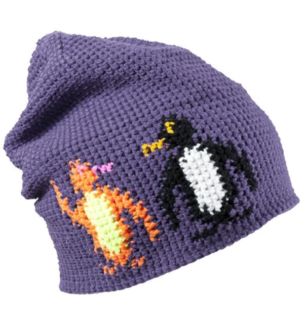 Шапка KASK PINGVIN purple