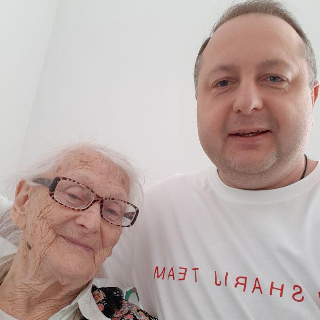 Помощь пенсионерки от актива ППШ - фото