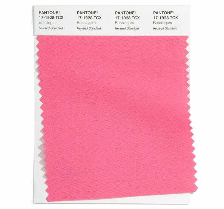 Цвят Bubblegum е интензивен нюанс на розовото, който ще озари дрехите през пролет лято 2022