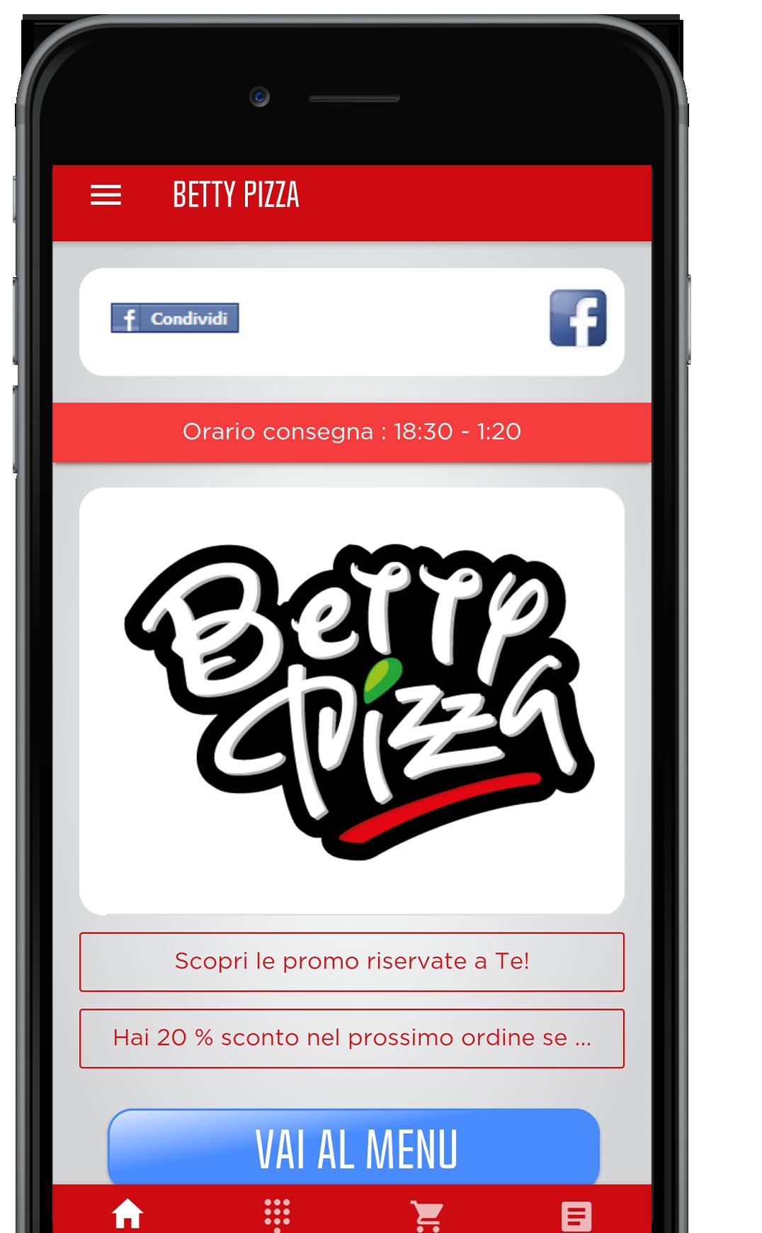 Betty Pizza App