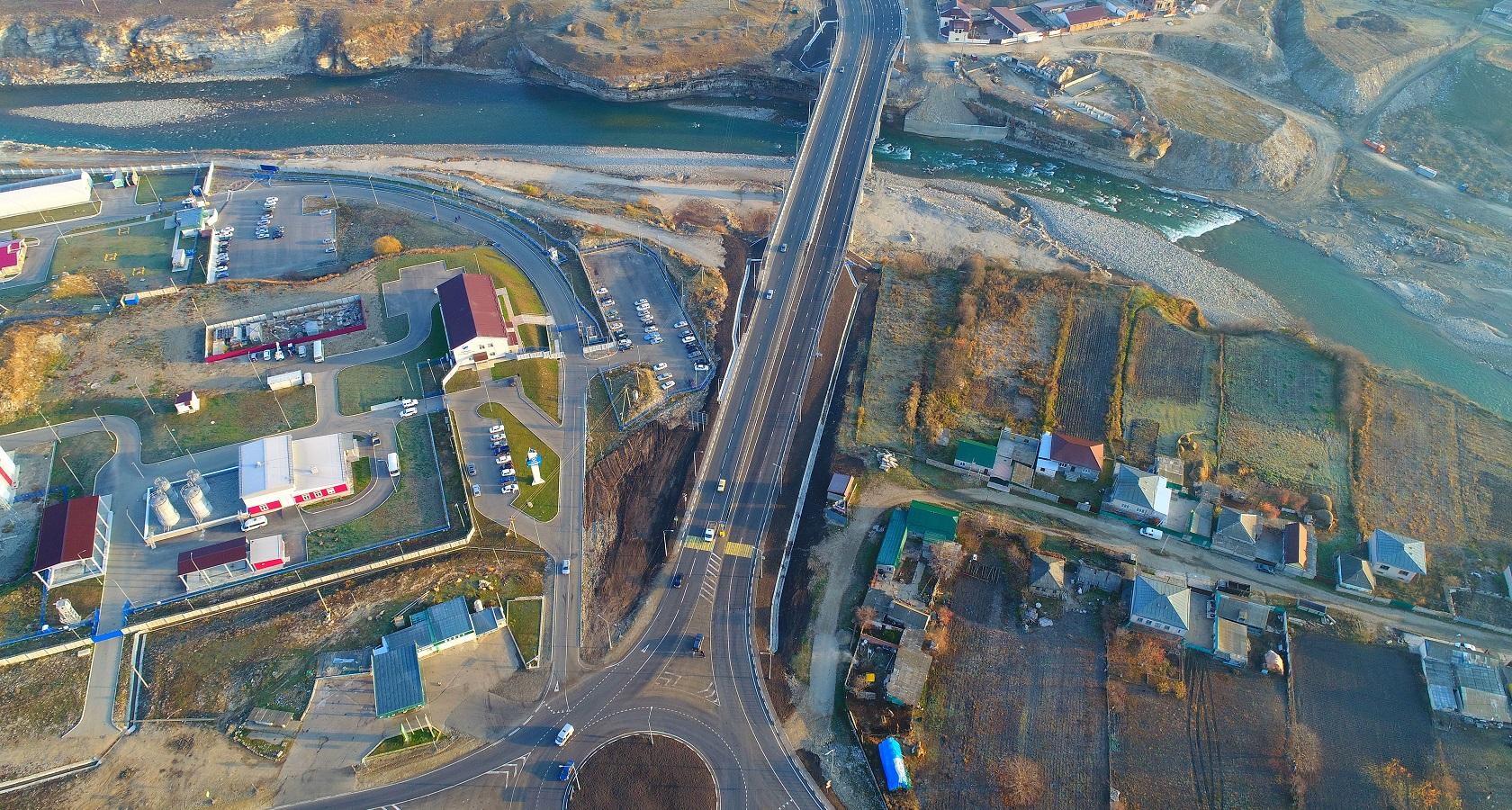 Новый мост связал республику с Минеральными Водами (фото: Росавтодор)