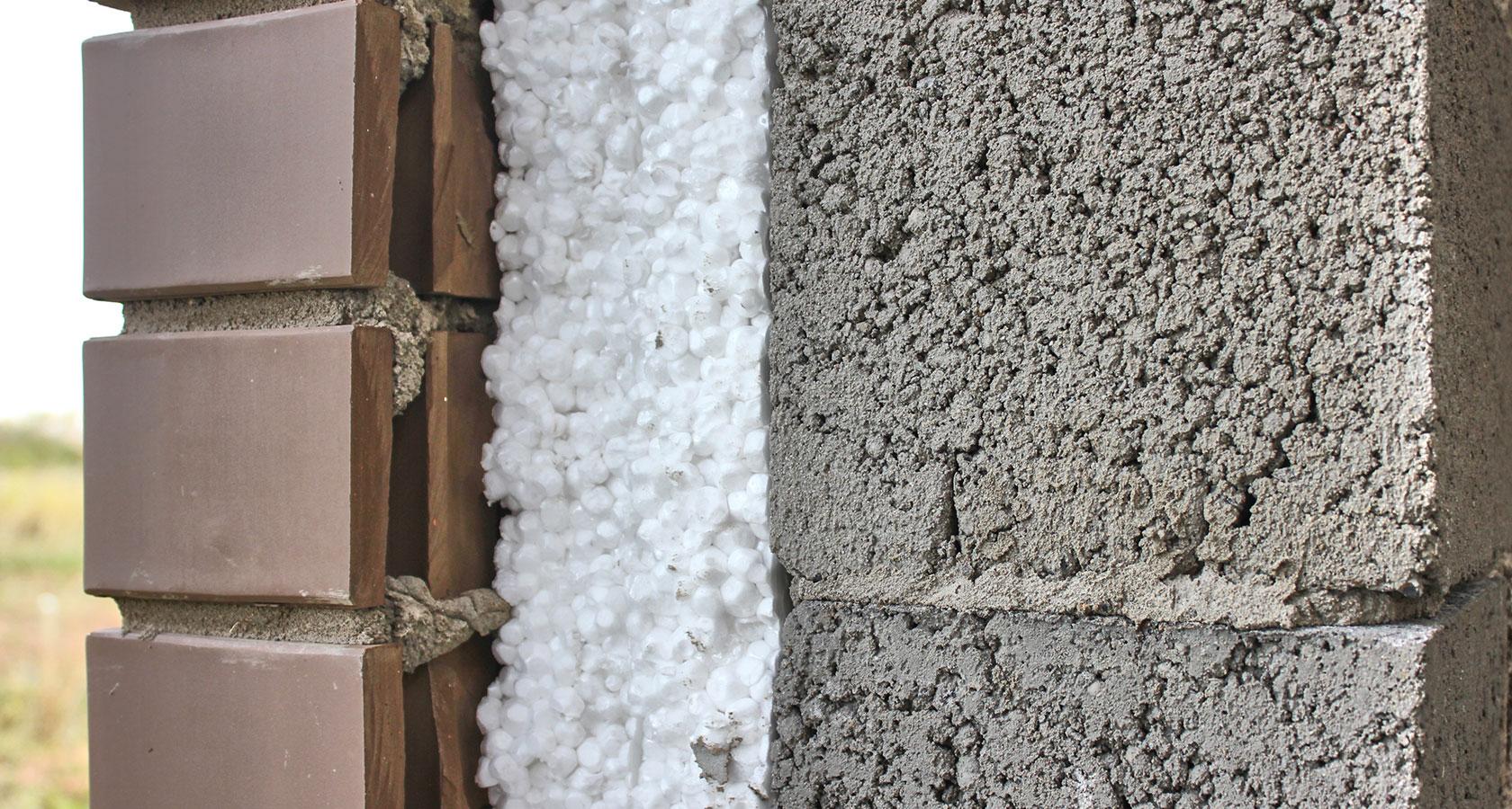 Утепление стен из керамзитобетона пенопластом штукатурка цементным раствором на улице