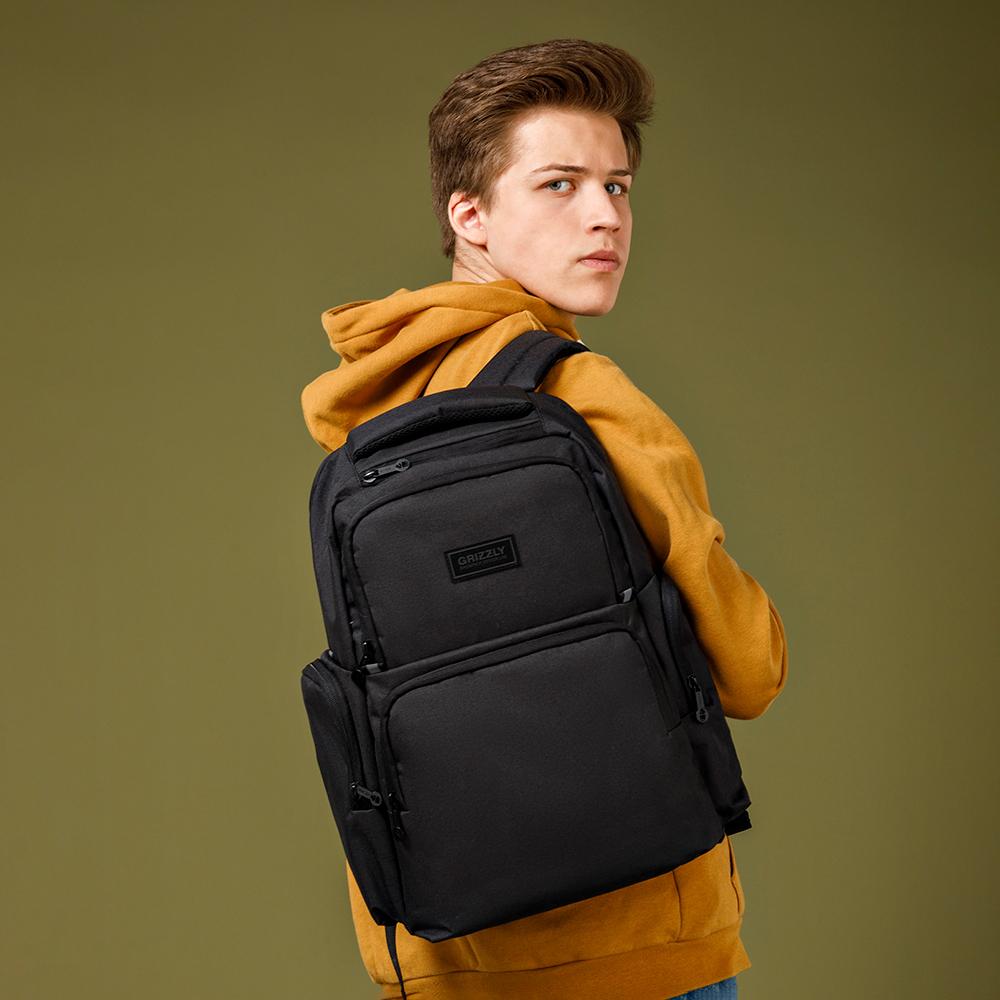 Рюкзак Grizzly RU-133-2 Черный