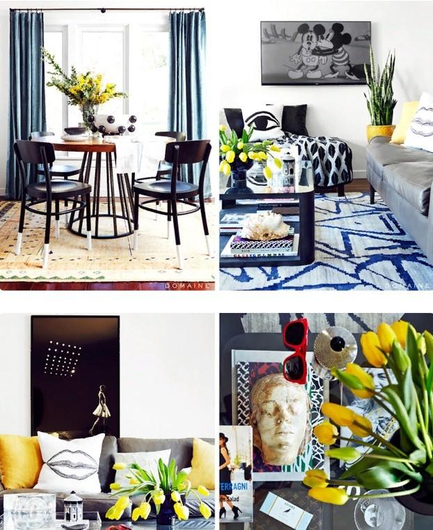 интерьера квартиры блогера Кьяры Ферраньи