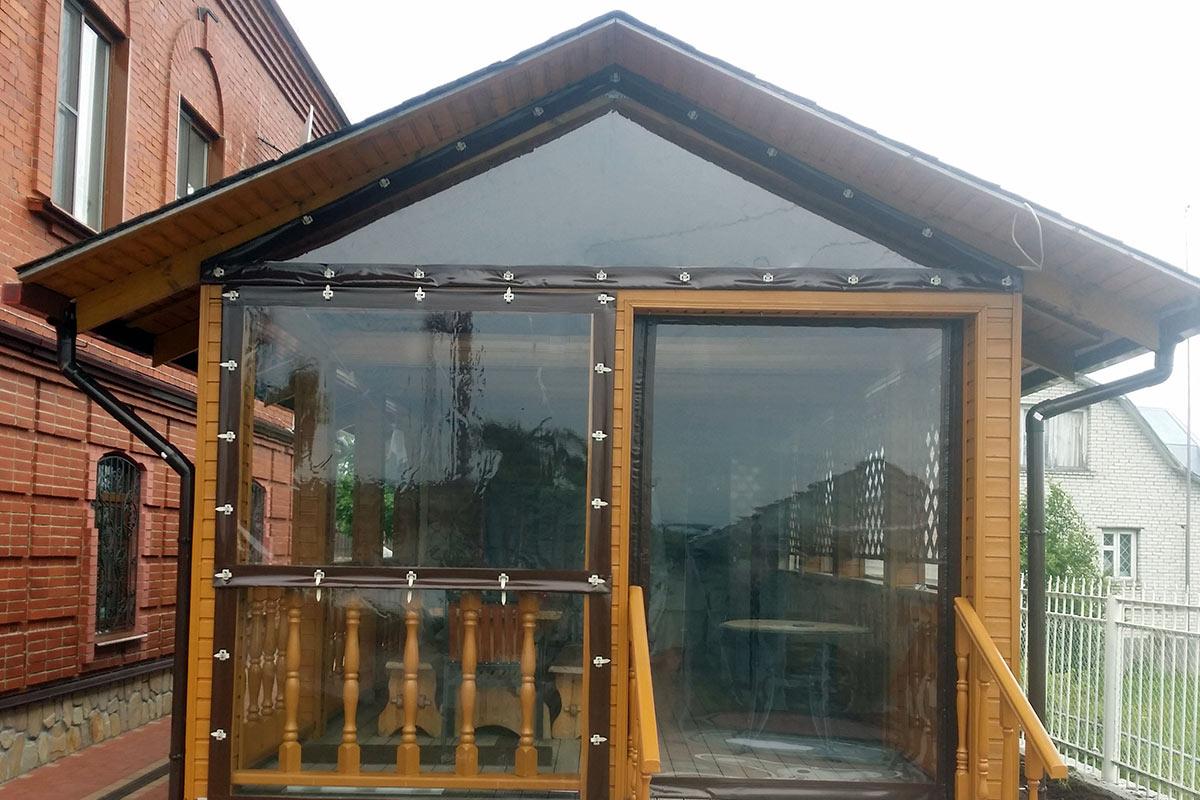 Картинка окна из пвх для беседок и террас