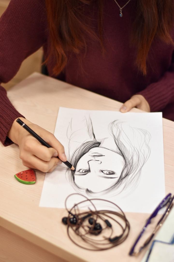 стиле картинки клуб рисования обычно храните