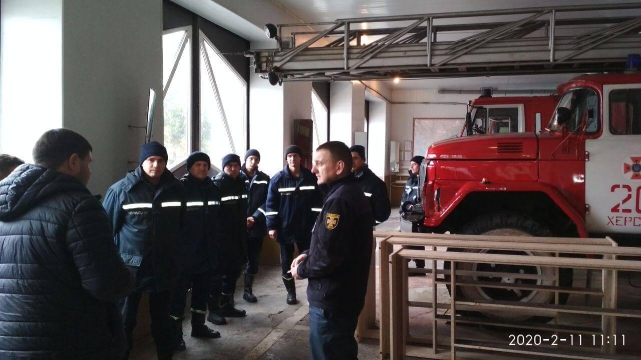 Шарий поблагодарил пожарных Херсон - фото