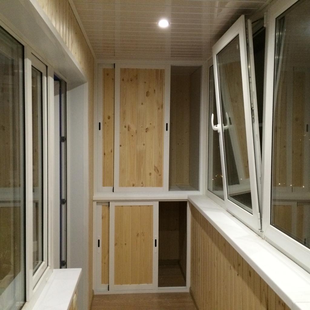 Отделка балконов дск фото