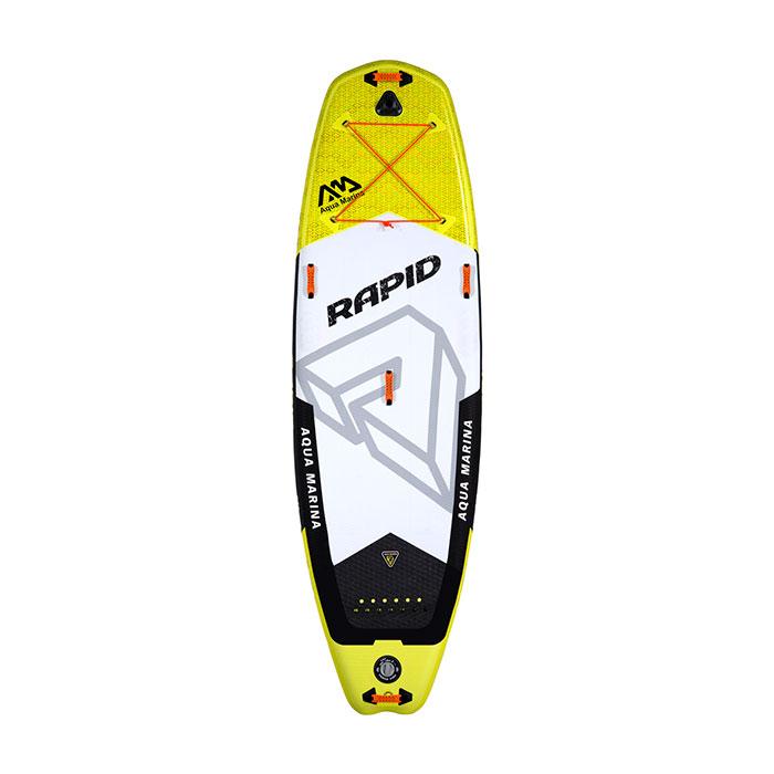 Купить SUP-доску Aqua Marina RAPID RIVER Aquamarina Grey/Yellow S18 - цена, продажа, каталог.
