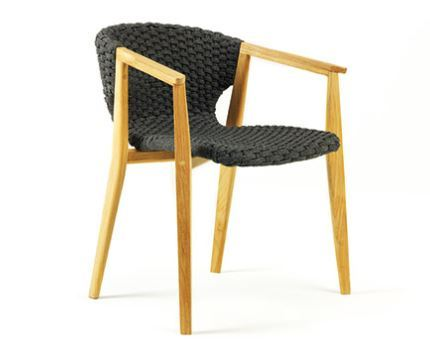 Rope teak chair indonesia