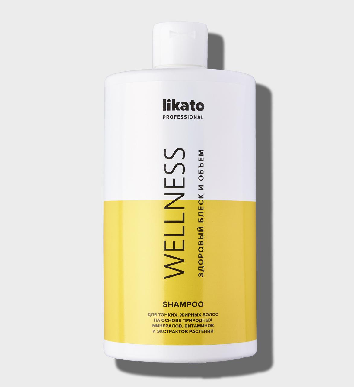 Купить Шампунь для мягкого очищения жирной кожи головы - 750 мл., 4603757310864, likato