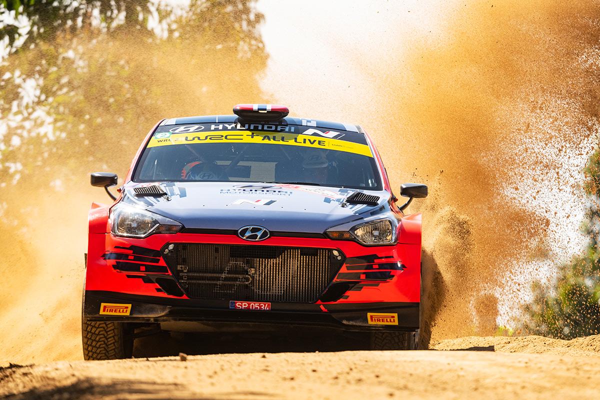 Уле-Христиан Вейбю и Йонас Андерссон, Hyundai i20 R5, ралли Португалия 2021
